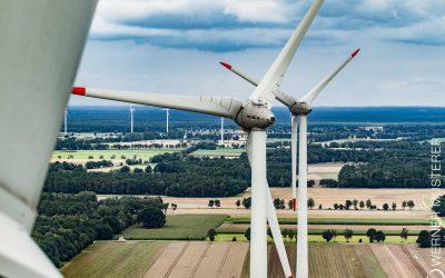 Rekordhoch: Immer mehr Windenergie an Land
